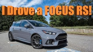 Ford Focus RS - A Real Life Video Game?