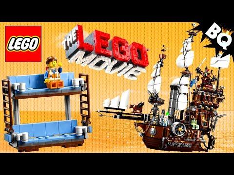 LEGO Movie MetalBeard's Sea Cow 70810 Build Review & Comparison