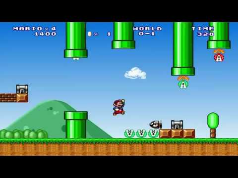 Mario Forever Polish Letter Worlds Series World Ó by Crist1919 [HD]