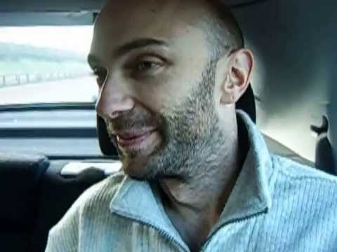 Shaun Attwood's Release From Prison - Driving From Heathrow Airport December 2007