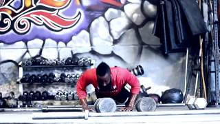 James Harden trains with Mike Rashid and Big Rob