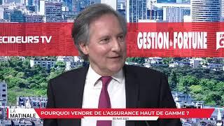 Interview de Michel Bourgeat directeur exécutif de Signature Assurances.
