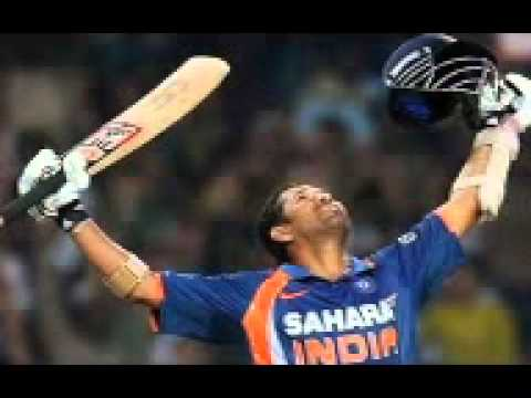 Sachin 200* Against South Africa In Odi. video