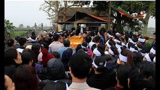 Lễ viếng Chủ tịch huyện Quốc Oai tại quê nhà