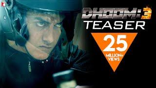Dhoom 3 - DHOOM:3 Teaser - Aamir Khan | Abhishek Bachchan | Katrina Kaif | Uday Chopra