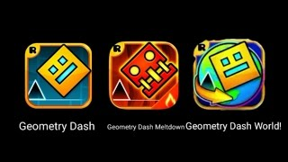 GEOMETRY DASH WORLD?( ͡° ͜ʖ ͡°) | ROBTOP's New App (But Where is 2.1 xD...)