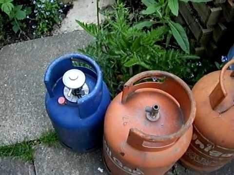 Making a gas bottle stove: part 1
