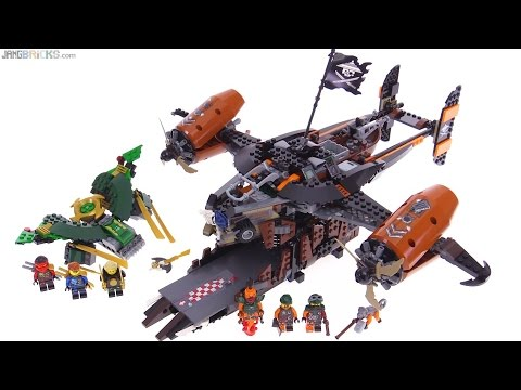 LEGO Ninjago Misfortune's Keep review! 70605