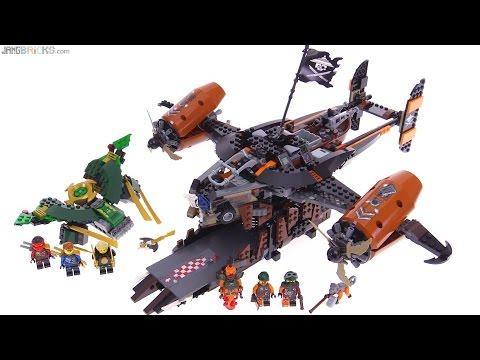 LEGO Ninjago Misfortune's Keep review! 70605