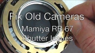 Fix Old Cameras: Mamiya RB 90mm Slow Speeds Hang