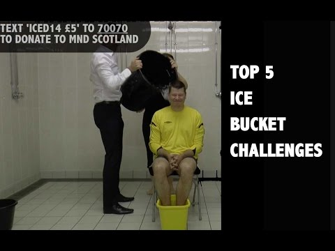 Neil Doncaster & top five Scottish football Ice Bucket Challenges