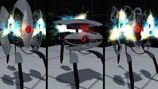"""Portal 2 - Камеры от сообщества : ДРУГ,ТУРЕЛЬ ПО ИМЕНИ """"ТОРТИК"""" !!!"""