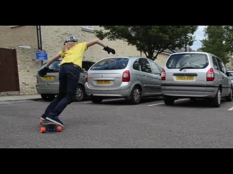 LongboardUK Trick Tips: Heelside & Toeside Speed Checks