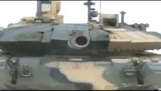 Tank T 90MS  winter demonstration Low