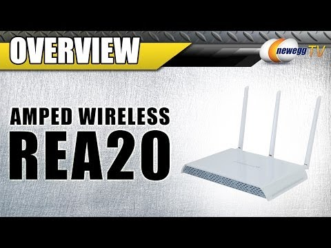 Amped Wireless High Power 700mW Dual Band AC Wi-Fi Range Extender - Product Tour