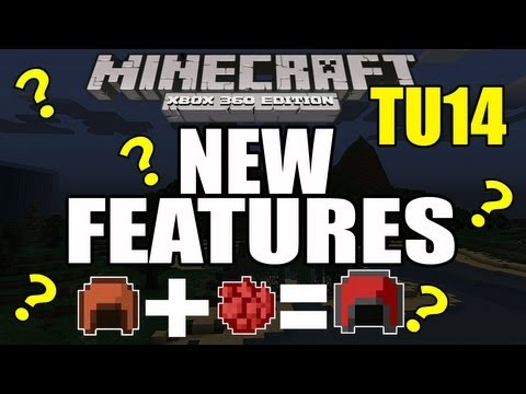 Minecraft (PS3 / XBOX360) TU14 Features - Dye Leather Armor