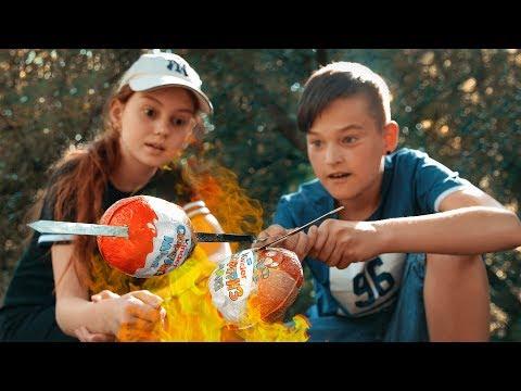 Пожарили БОЛЬШИЕ КИНДЕРЫ!!!