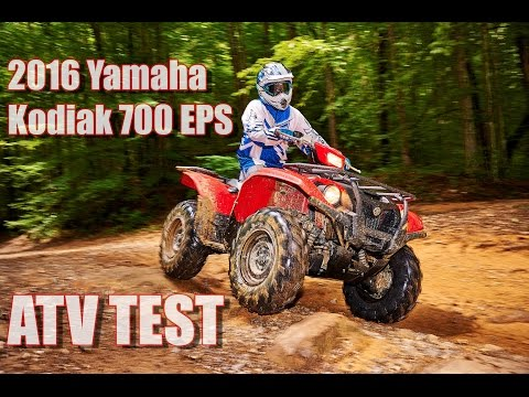 2016 Yamaha Kodiak 700 EPS First Test Review