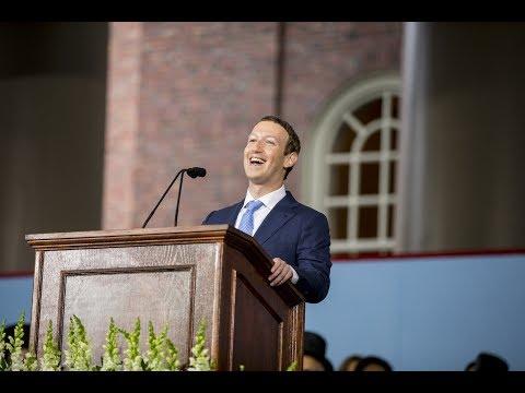 ザッカーバーグのハーバード卒業式スピーチ
