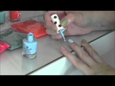CHECK THIS OUT! My inexpensive Ciate Caviar Manicure inspired Tutorial! | mel171106