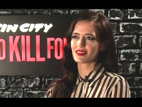 Eva Green Interview - Sin City: A Dame to Kill For (2014) Frank Miller Movie HD
