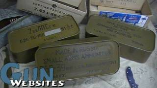 Russian Ammunition Tins (Spam Cans)