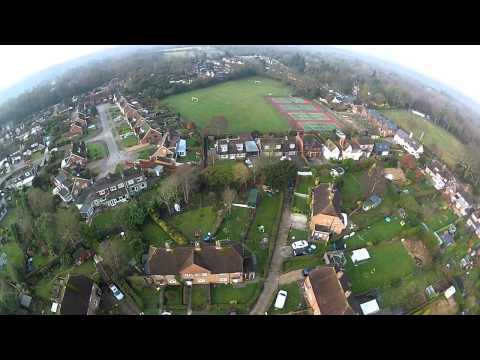 DJI Phantom Quadcopter Multirotor Second Daylight Flight With GoPro GPS Flight