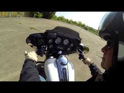 HD Street Glide Gopro test ride