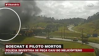 Caso Boechat: Piloto tentou realizar pouso de emergência
