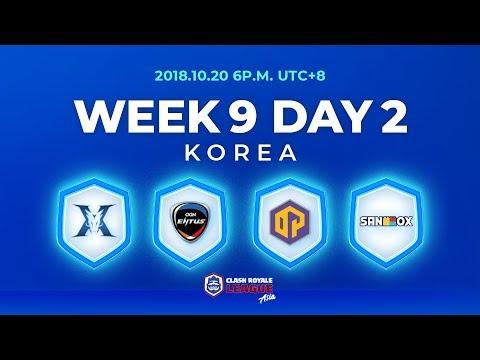 Clash Royale League Asia Season2 - Week 9 Day 2