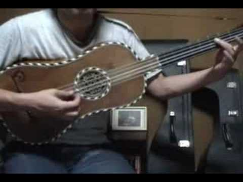 Folias by Gaspar Sanz take2 ; baroque guitar