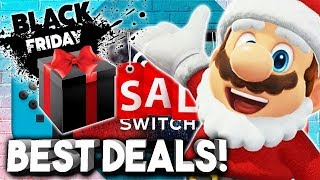 10 BEST Nintendo Switch Black Friday 2019 Deals! HUGE SALES!