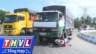 THVL | Va chạm giao thông tại vòng xoay đường tránh thành phố Vĩnh Long