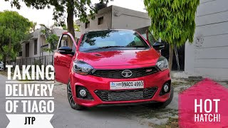 Tata Tiago JTP Delivery | JTSV | Full Review Soon | Traction Control