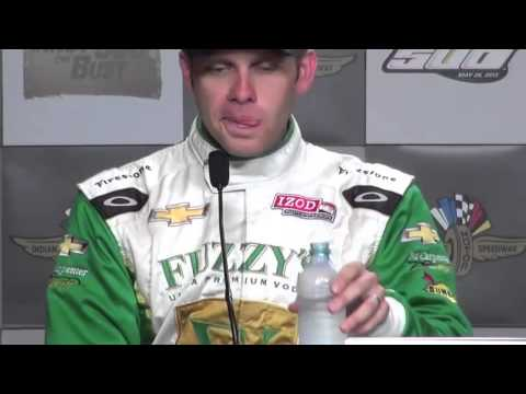 Ed Carpenter wins pole for Indy 500 2013