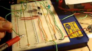 Electronics 13 : How to make an RS FLIP FLOP ( memory cell ) part 2