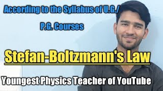Stefan- Boltzmann Law in Hindi |Blackbody Radiation || Raj Physics Tutorials #physics #science