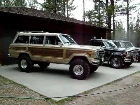 full size jeep sj complete lineup youtube. Black Bedroom Furniture Sets. Home Design Ideas
