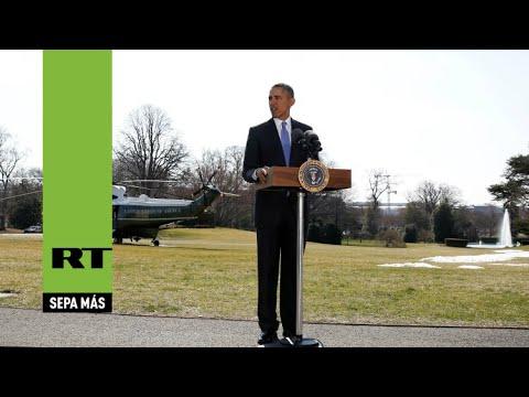 Obama prorroga durante un año las sanciones impuestas a Rusia