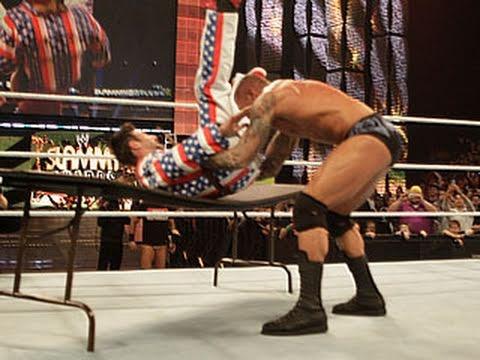 Raw: Randy Orton vs. David Arquette & Alex Riley
