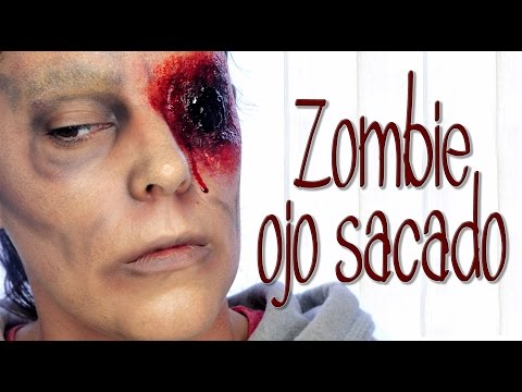 Tutorial Maquillaje Halloween Zombie sin ojo | Silvia Quiros