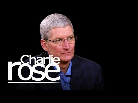 Tim Cook on Privacy and Apple Pay | Charlie Rose