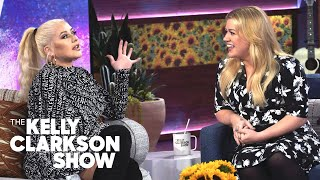 Christina Aguilera Tells Kelly They Are 'Twins Separated At Birth'  | The Kelly Clarkson Show