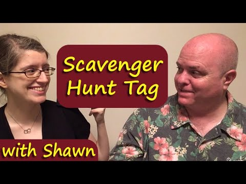 Book Scavenger Hunt Tag with Shawn || Always Doing