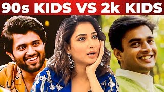 Vijay Devarakonda or Madhavan? Tamannaah's Ultimate Reply | 90s Kids vs 2k Kids | Kanne Kalaimane
