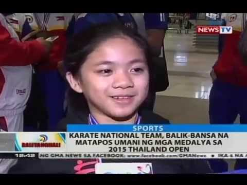 GMA News TV Karate Thailand Open Balitangtanghali