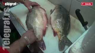 Kako očistiti ribu za samo 2 minuta