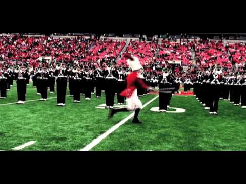 Ohio State Marching Band 2012 Drum Major Trailer