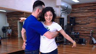 Ariana Grande - 7 Rings Dance | Alisson Sandi & Christina Montoya | Brazilian Zouk Dance | Brazouky