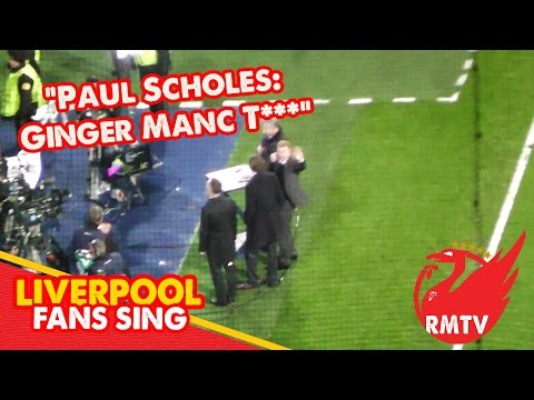 Scholes reacts to